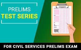 Daily Test Series - Prelims 2018 test papers