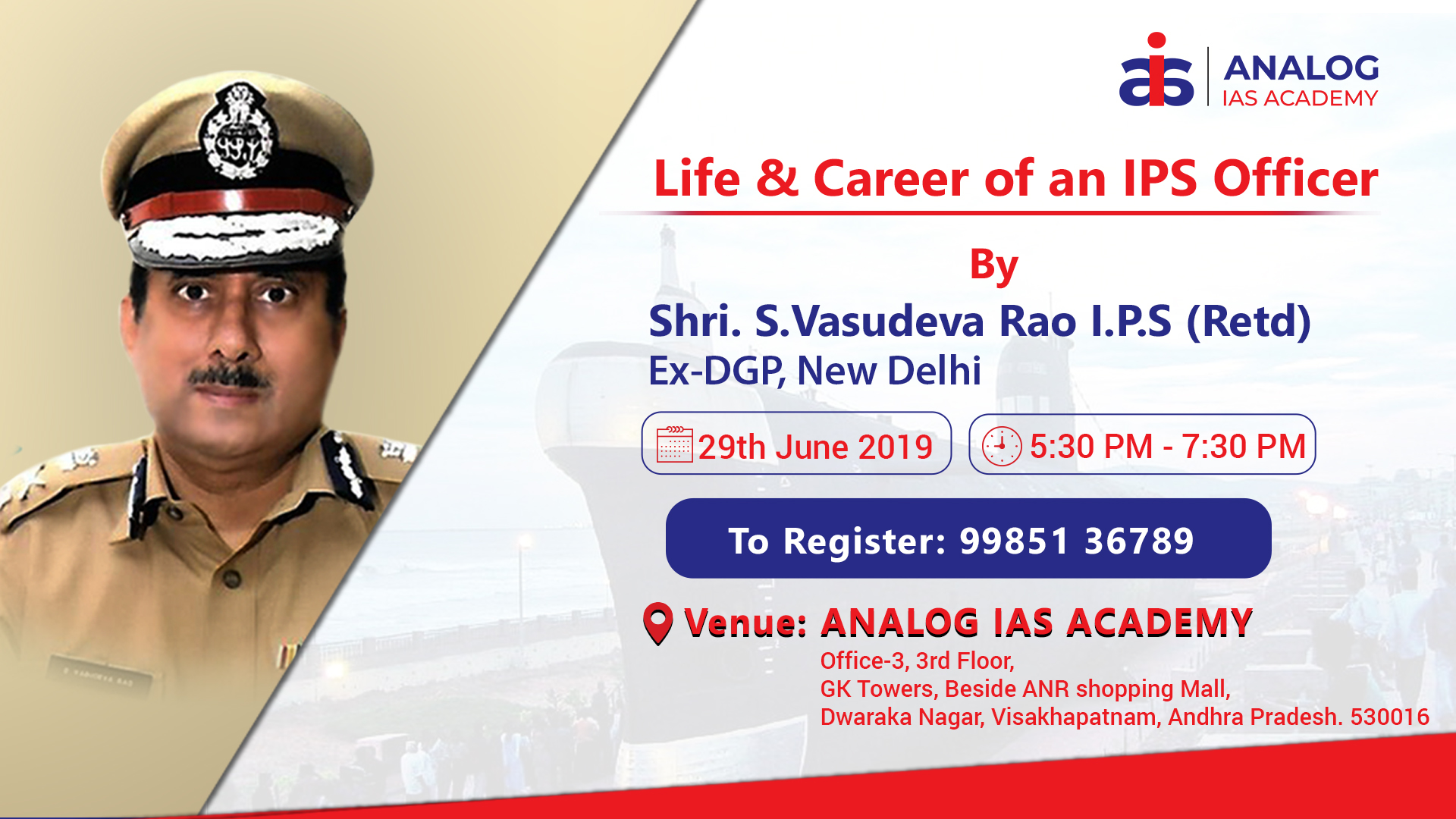 Life & Career Of an IPS Officer by Rtd. IPS Officer