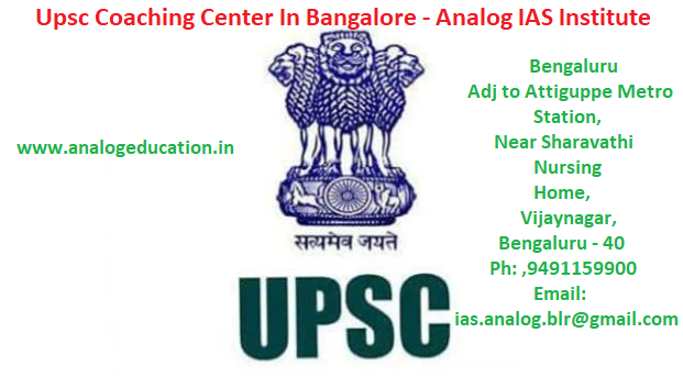 Upsc Coaching Center In Bangalore